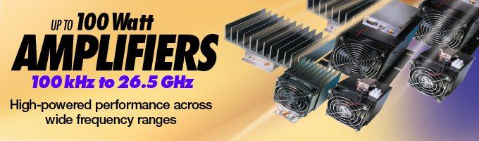 High Power Amplifier   Low Noise RF Amplifier (LNA)   Dynamic