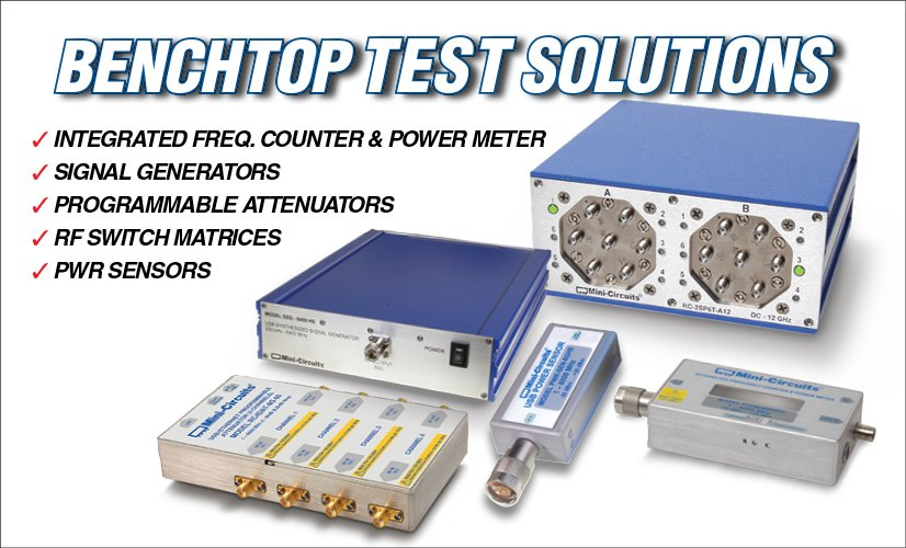 Benchtop Test Solutions